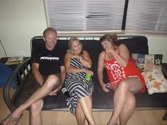 Jimmy, Virpi, Alicia