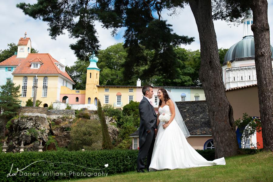 portmeirion wedding photographer