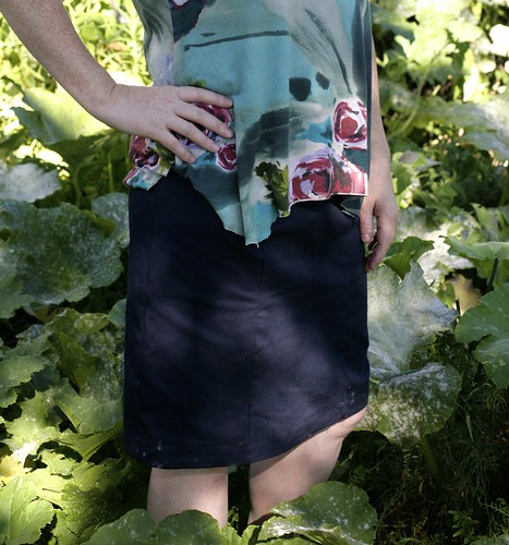 Hummingbird skirt.