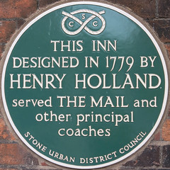 Photo of Henry Holland green plaque