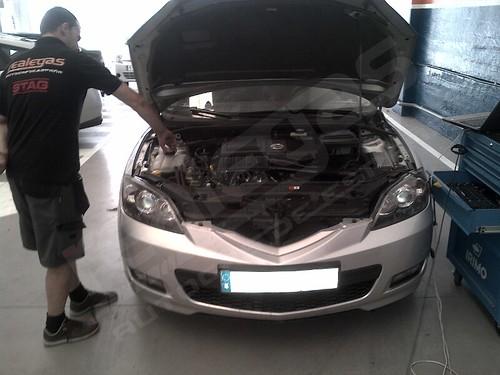 Transformación Autogas GLP Mazda 3