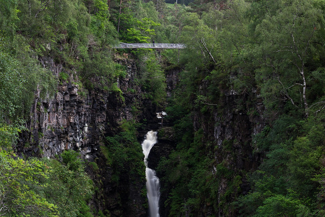 The Photographer - Corrieshalloch Gorge