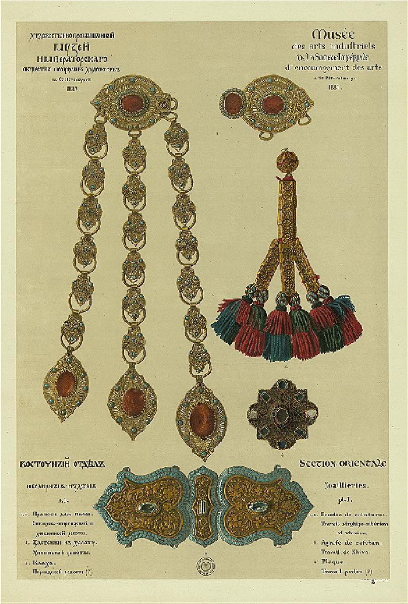 oriental  jewelry, earring,pendant, eardrop,   oriental ironwork,