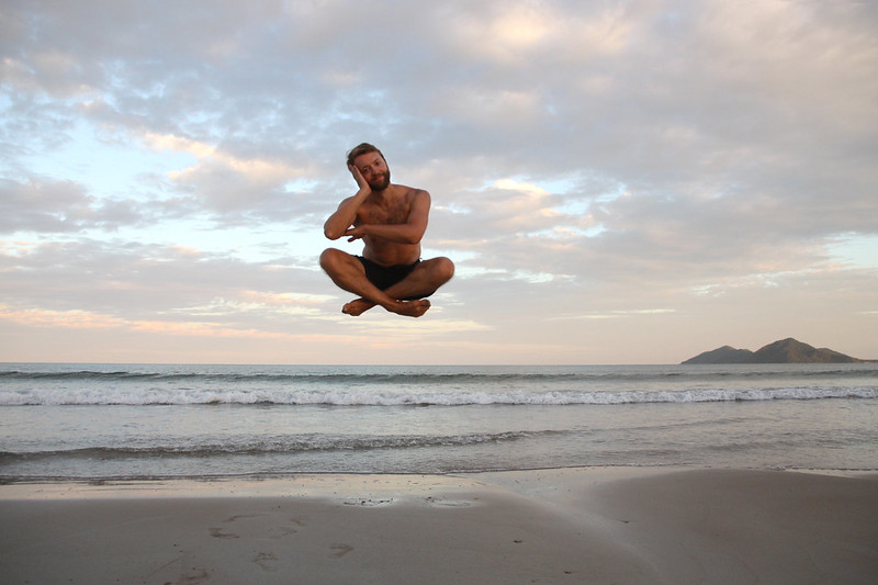 Jumping Picture Airlie Beach
