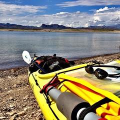 Kayak & swim