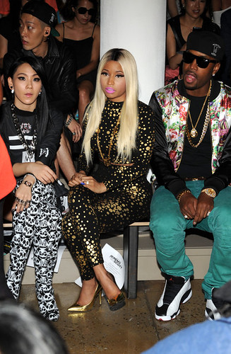 Missinfo nicki minaj asap rocky the jonas brothers attend jeremy scott nyfw 2013 1 m4hsunfo Images