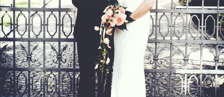 Hochzeitsausschnitt