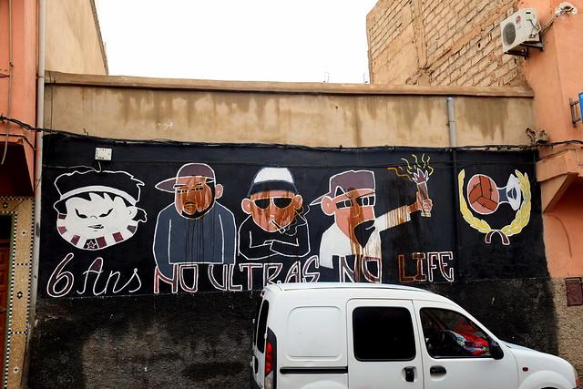 graffiti | marrakech ultras | marrakesh