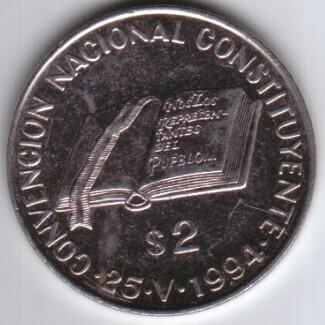 Argentina 2 Pesos 1994