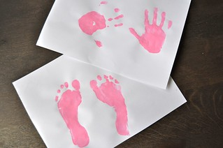 First School Handprint Footprints