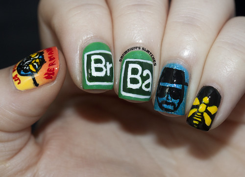 Breaking Bad Nailart (1)