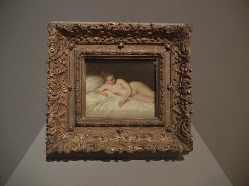 DSCN7613 _ Reclining Nude, c. 1713-1717, Jean-Antoine Watteau (1684-1721), Norton Simon Museum, July 2013