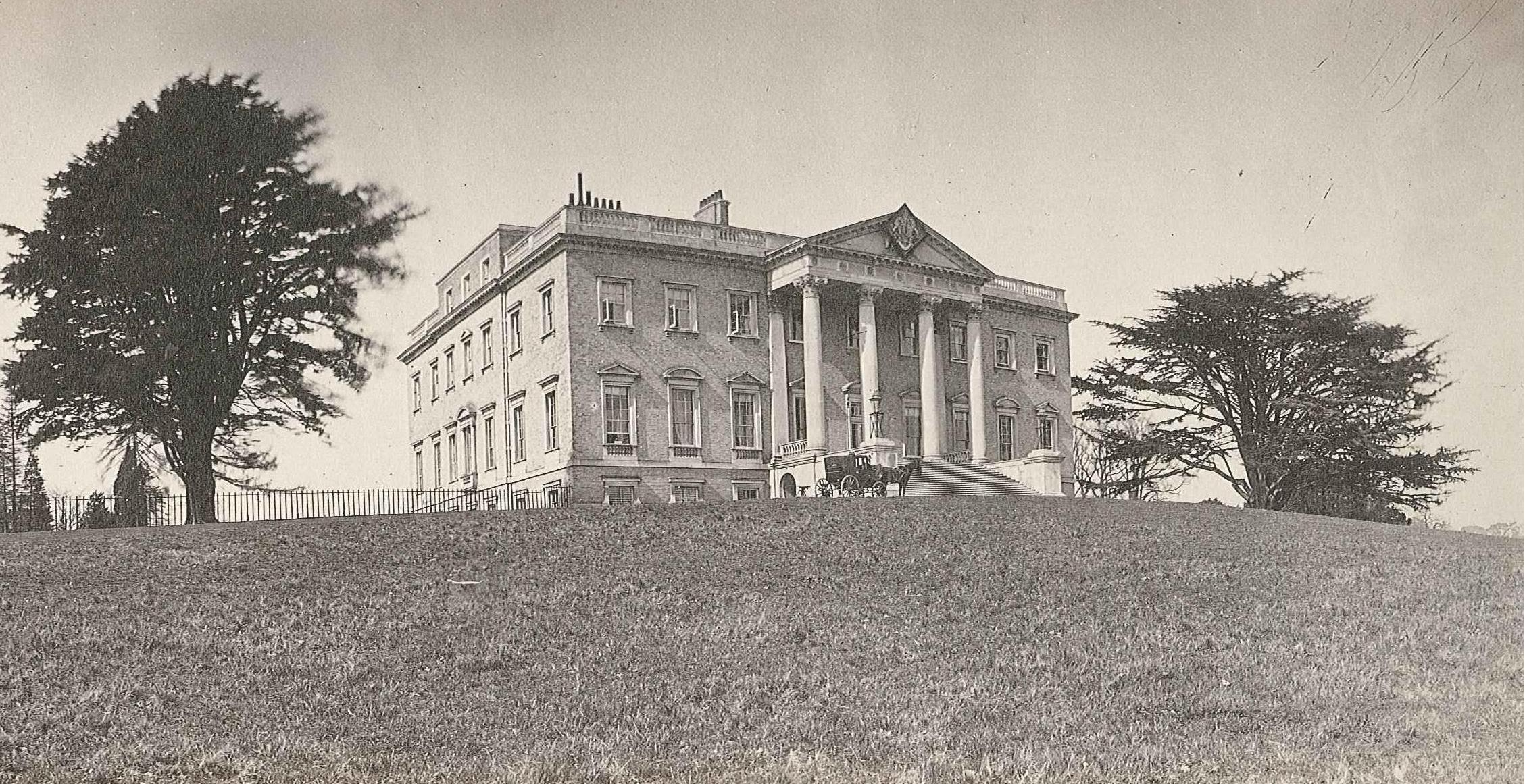 6. Claremont House en 1860