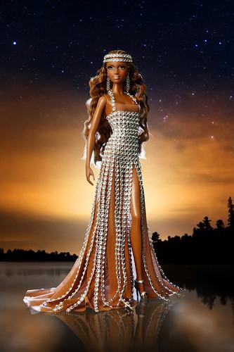 Reina Náyade, muñeca honorífica de la Convención nacional de coleccionistas de Barbie en España 2013