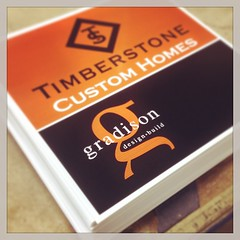 New Weekend Directional Signs for Timberstone by Gradison Design Build. #signshop #directionalsigns #fishers