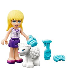 LEGO-Friends-Stephanies-New-Born-Lamb-41029-Lamb