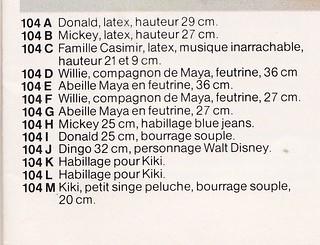 Maya l'abeille (Schleich) 1976 - MAJ 14/10/2013 - 10219599936_9b6f2a1844_n
