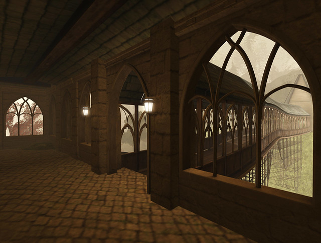 Hogwarts courtyards (1)