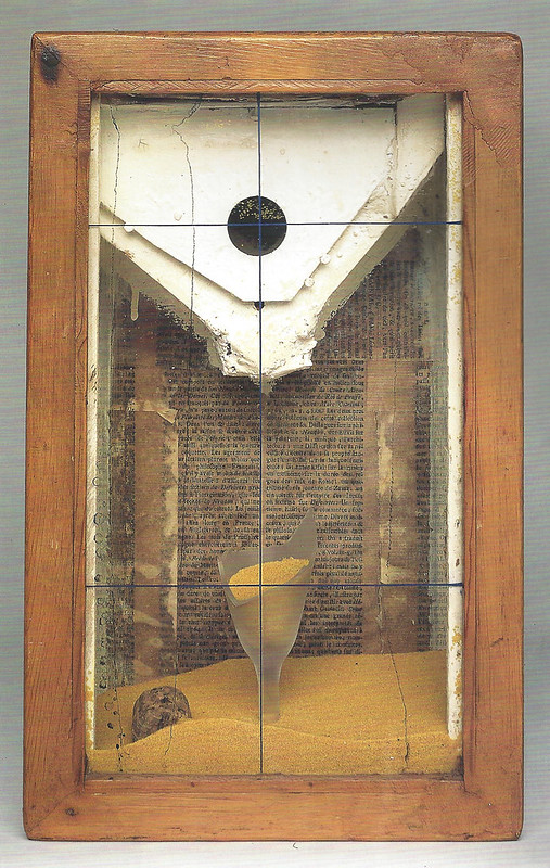 Joseph Cornell, Untitled (Yellow Sand Fountain), c. 1955