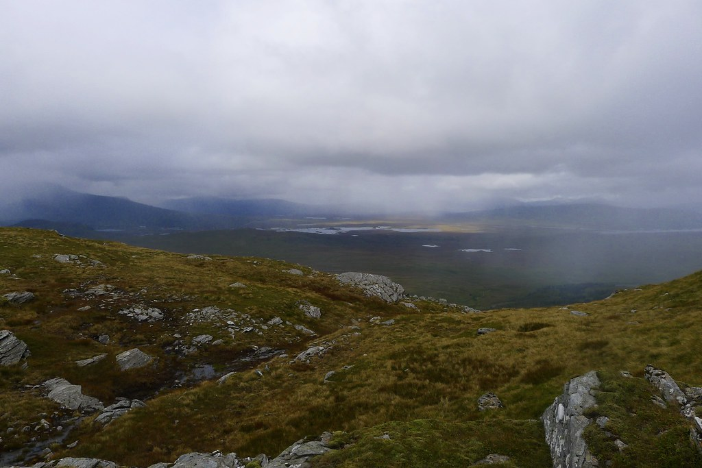 Moody views of Rannoch Moor