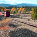 Mixed Freight, Dredge Tailings & Fall Foliage by wunztwice