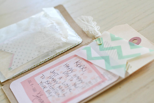 snail mail from a friend | yourwishcake.com