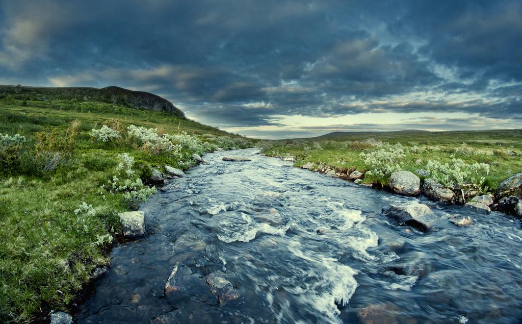 21. El final de la tormenta. Laponia noruega. Autor, Tusken91