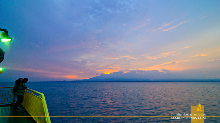 Sunset at Iligan Bay