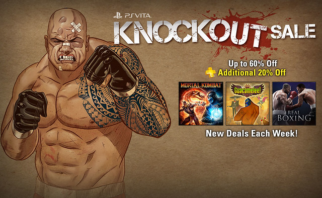 PS Vita Knockout Sale