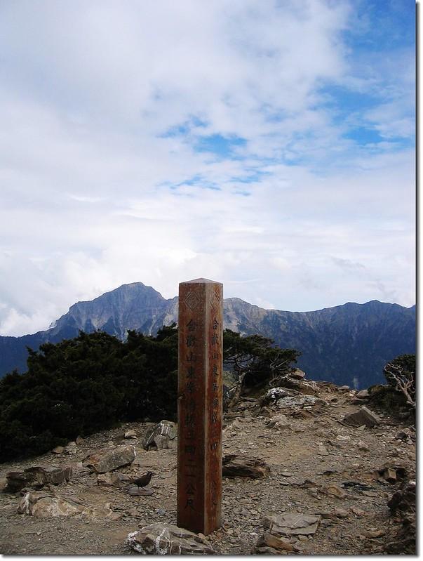 合歡東峰( Elev.3421 m)