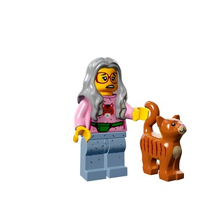 LEGO The Movie 71004 - Collectible Minifigures - Mrs. Scratchen-Post