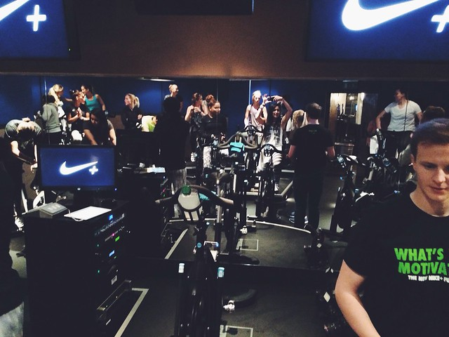 Nike Fuelband SE London launch