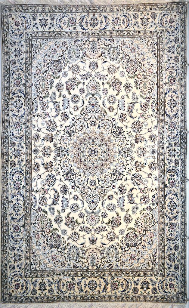 Naeen Wool Persian Rug Item Hf 1091
