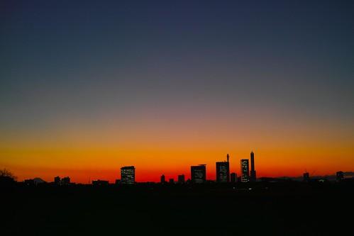 sunset 夕焼け dp2merrill