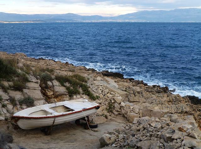 Boat in Solta