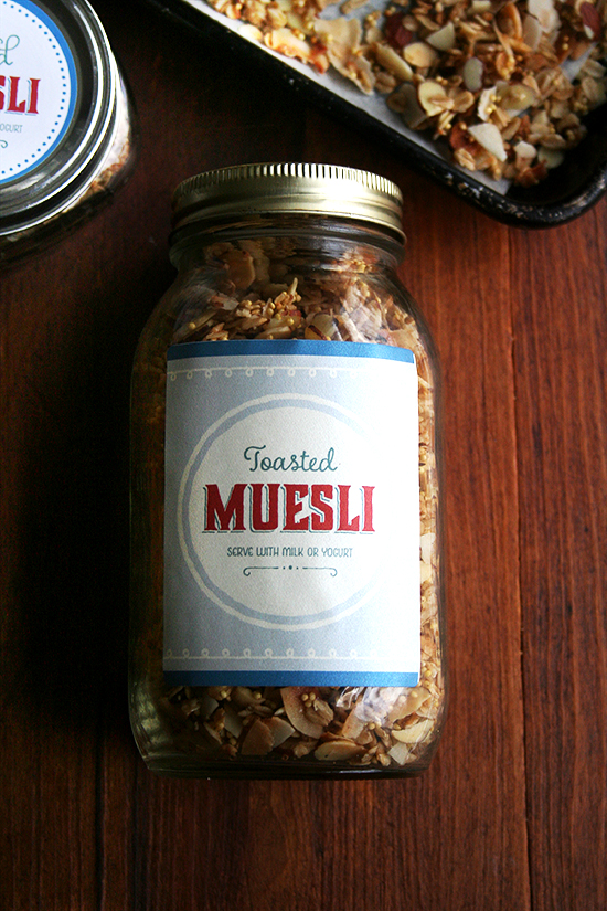 big jar muesli