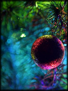 Christmas Bokeh Bauble