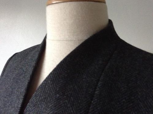 Jacket neckline
