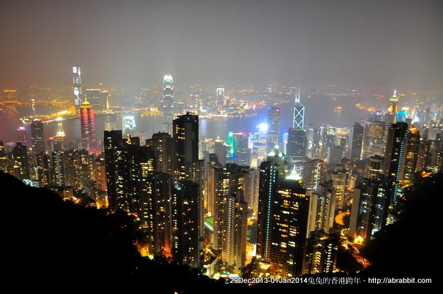 201314香港跨年。太平山夜景、杜莎夫人蠟像館