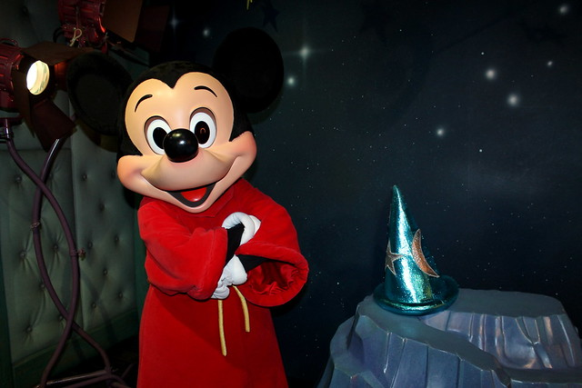 Meeting Sorcerer's Apprentice Mickey Mouse | Flickr ...