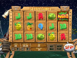 free Funky Fruits Farm slot Free Spins