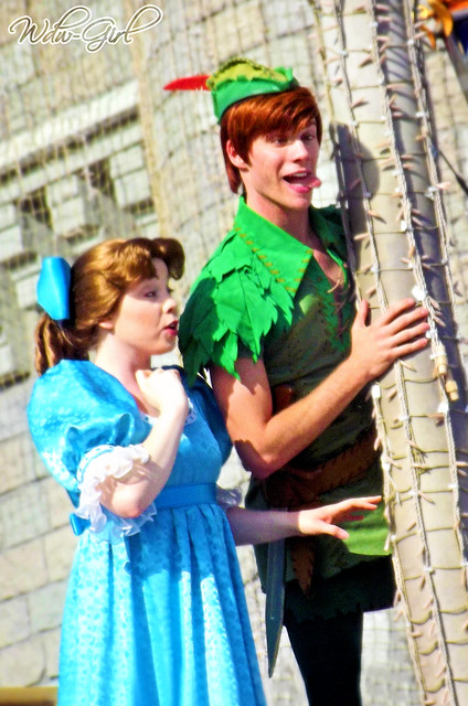 Peter Pan Silly Faces