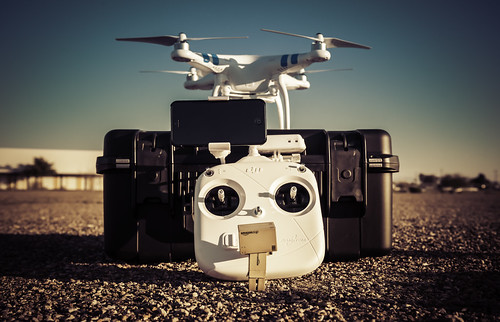 Danbo & The DJI Phantom 2 Vision