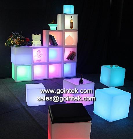Rgb led kubus voor nachtclub decoratie verlichting flickr photo sharing - Nachtclub decoratie ...
