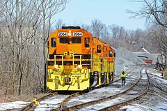 CORP GP38-3-2064, 2065, 2066 W/B UBST at Woodsboro, MD