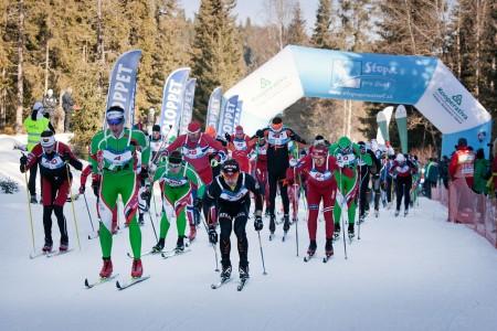 Šumavský skimaraton Kooperativy - vyhráli Němec Freimuth a naše Kocumová
