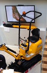 JCB at Linley Exhibition