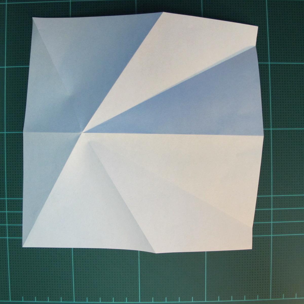 วิธีการพับกระดาษเป็นรูปกบ (แบบโคลัมเบี้ยน) (Origami Frog) 015