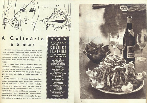 Crónica Feminina Culinária, Nº 18 - 1