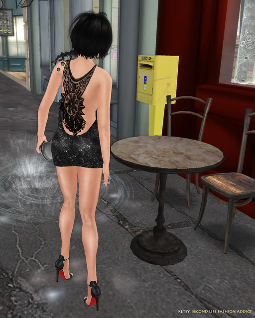 Caught In The Rain - New Blog Post @ Second Life Fashion Addict
